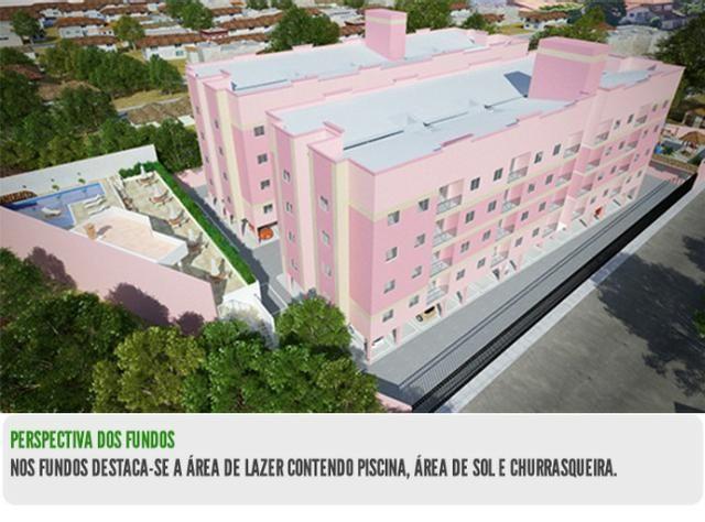 Residencial Rowena- Apto com 3/4, sendo 1 suíte, com 76m2, 1 vaga de garagem - Foto 3
