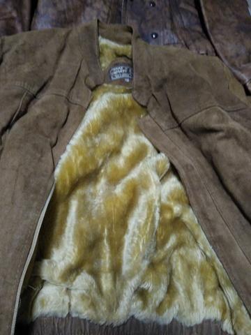 Vendo casaco couro grosso