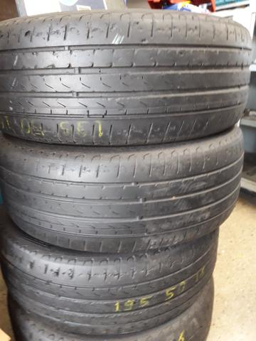 4 pneus 195/50/16 Pirelli vl450 $ os 4 tr * - Foto 2