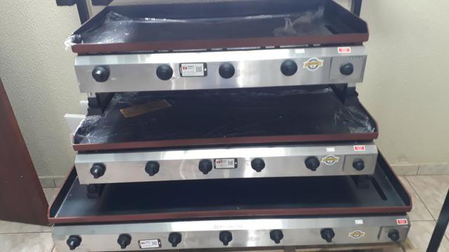 Chapa a gás profissional de vários tamanhos e modelos - Foto 3