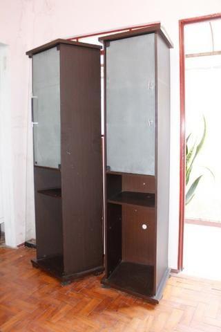 Estante / Cristaleira c/ Prateleiras e Porta de Vidro - Foto 3