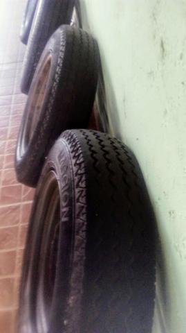 Rodas VW fusca aro 15 4 furos - Foto 2