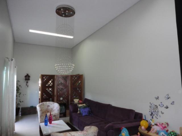 Vicente pires, linda e moderna casa, sala com pé direito duplo - Foto 7