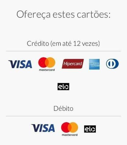 Aceite pagamentos com cartões de débito e crédito - Foto 2