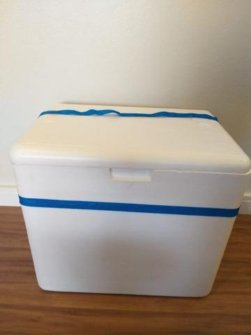 Caixa térmica de isopor 50x40x40 - Foto 2