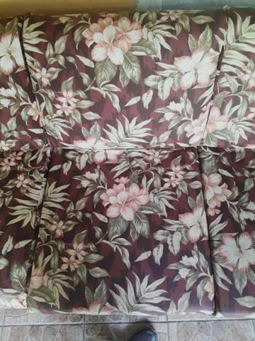 Sofá parma de 3 lugares semi novo com tecido impermeável - Foto 6