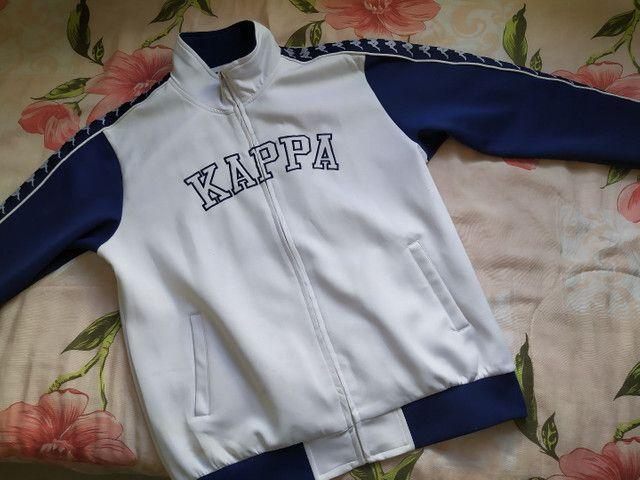 Jaqueta kappa original tamanho m - Foto 2