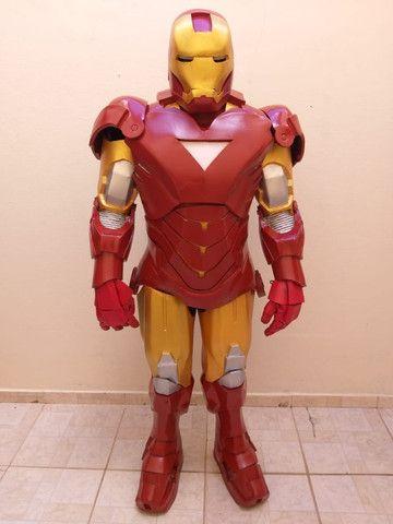 Fantasia Homem de Ferro Cosplay - Foto 3