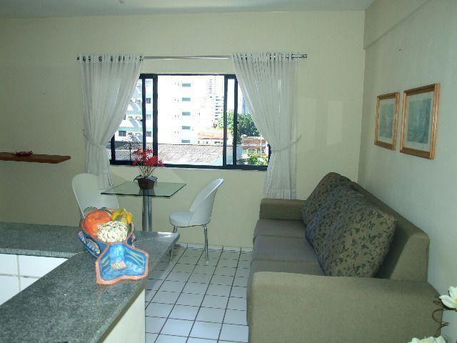 Studio 100% Mobiliado com 1 dormitório para alugar, 38 m² por R$ 1.900/mês - Graças - Reci - Foto 7