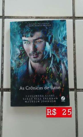 """Livro """"As Crônicas de Bane"""" de Cassandra Clare"""