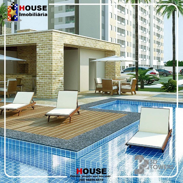 Dimensão Construção, Condominio 3D towers, 2 e 3 quartos - Foto 5