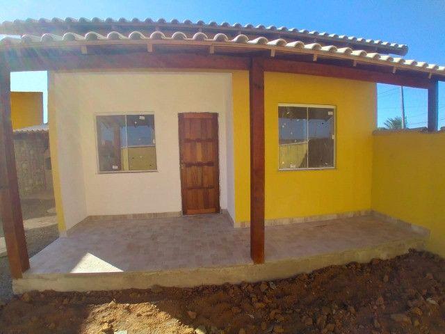 Casas em Unamar- Tamoios, 2º distrito de Cabo Frio área gourmet com churrasqueira - Foto 3