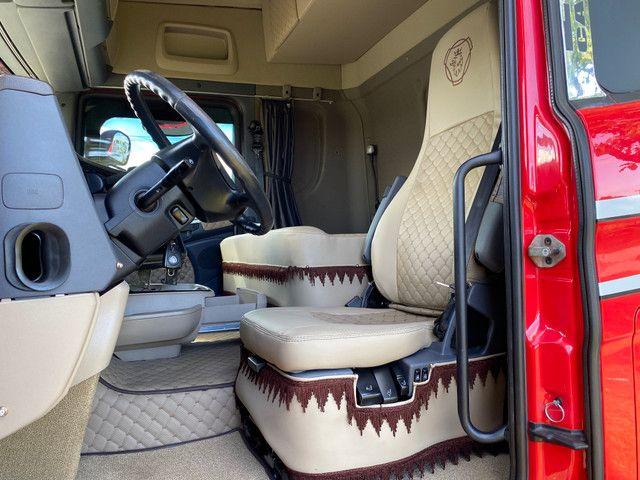 Scania Streamline R440 Traçado 6x4 Bug Leve Susp Mola Único Dono 2016 - Foto 10