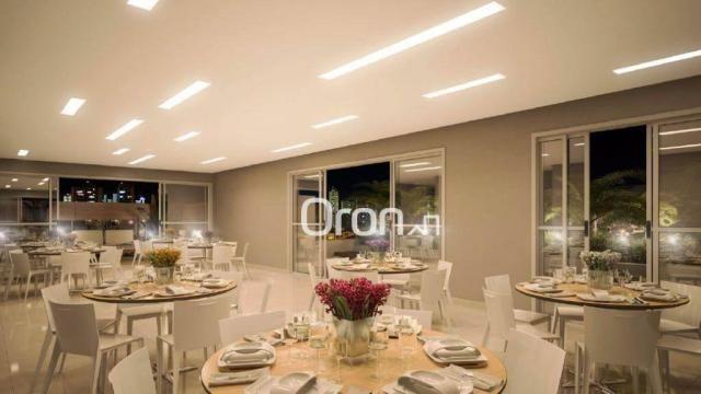 Apartamento com 3 dormitórios à venda, 80 m² por R$ 446.000,00 - Setor Bueno - Goiânia/GO - Foto 2