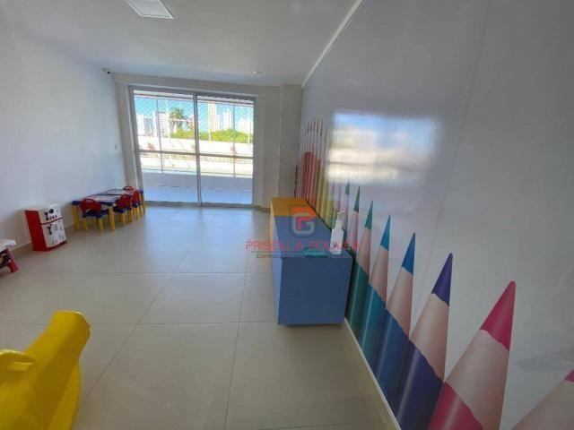 Apartamento novo, 2 quartos, andar alto, varanda gourmet e 2 vagas de garagem - Foto 7
