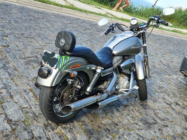 Harley Davidson Dyna Super Glide 1600cc 2008 - Somente Venda - Foto 6