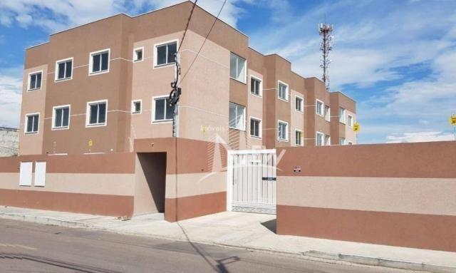 Apartamento térreo com GARDEN, 02 quartos no Parque da Fonte, São José dos Pinhais