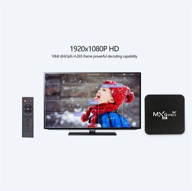 TV Box 4k 5G de 32gb Novo! - Foto 6