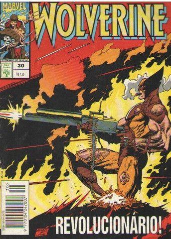 Kit Quadrinhos Marvel e DC (Super-Homem e Wolverine) 6 revistas - Foto 6