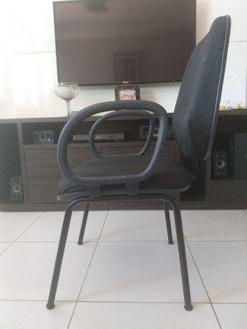 Cadeiras para escritório, curso e recepção - Foto 2