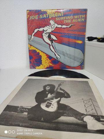Raridade! Disco de Vinil Joe Satriani - Foto 3