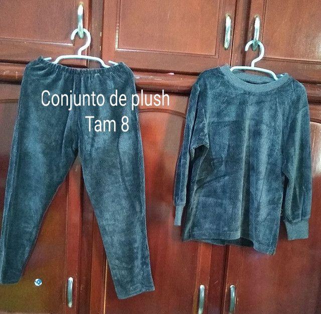 Vendo roupa infantil seminovos bem conservado só vendo não entrego. - Foto 3
