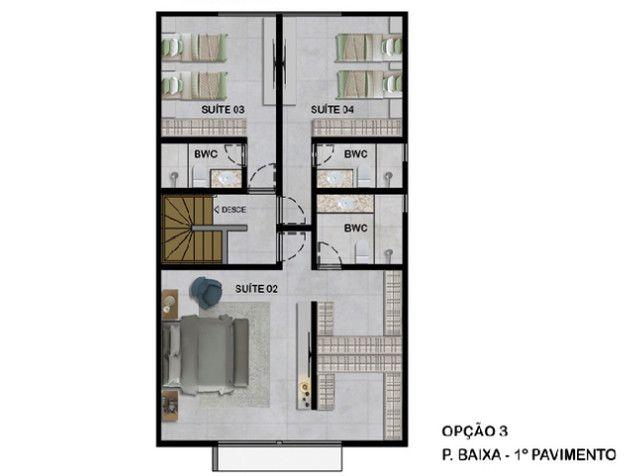 Casas Alto Padrão em Poçoda Panela 258m² 4 ou 5 suites jardins privativos separados - Foto 9