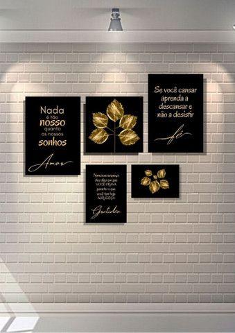 Kit quadro decorativo SONHOS