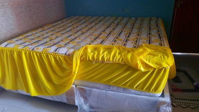 Vendo colchas de cama 2 em 1 - Foto 3