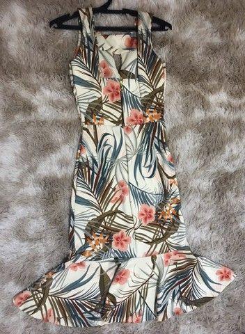 Vestido Midi - Estampado - Foto 2