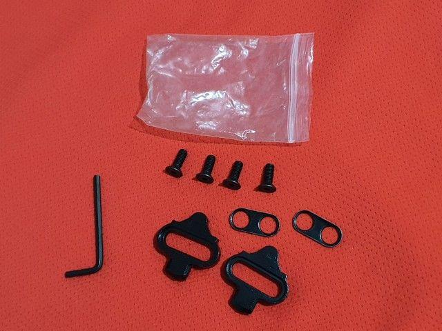 Taco para pedal de clip padrão shimano. Novo sem uso. Bike bicicleta  - Foto 4