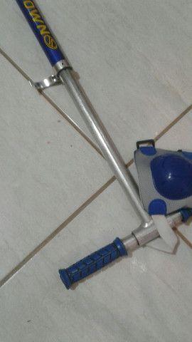 Patinete completo com 2 acessórios de joelho ou cotovelo  - Foto 2