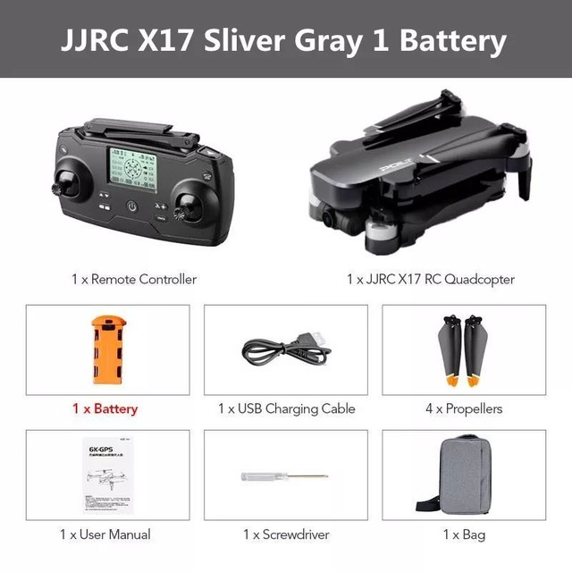 Drone JJRC X17 GPS 5G Dual GIMBAL 6k Grande Promoção - Foto 2