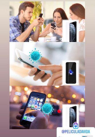 Película De Proteção Linha Samsung Frente + Brinde - Foto 4