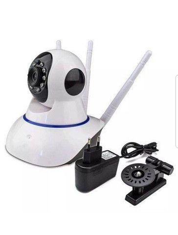 câmera ip 3 antenas giratoria