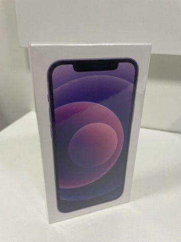 iPhone 12 - 64GB - Purple ( Roxo ) - Novo  - Foto 5