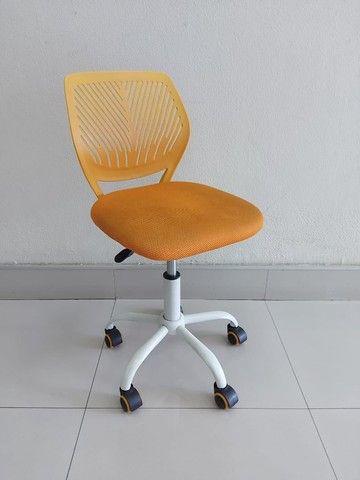 Cadeira Secretária Teen Laranja
