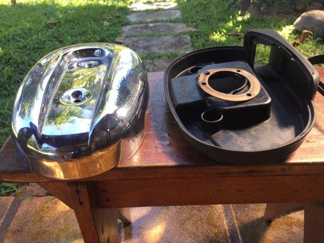 Kit Completo Filtro De Ar Harley Davidson 883 Com Filtro Kn
