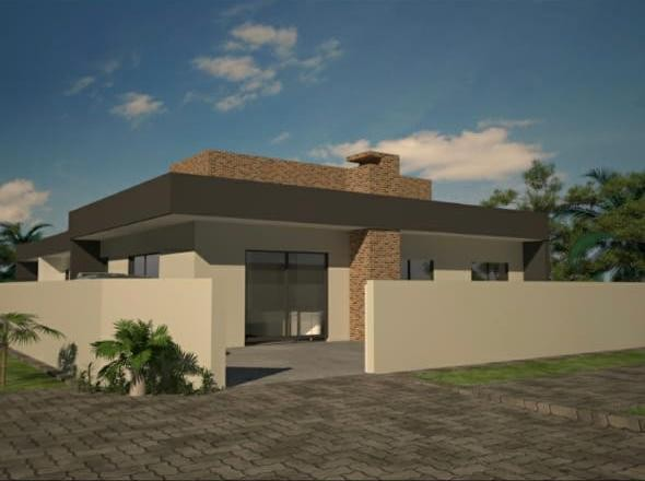 Casa para Venda em Guaratuba, Brejatuba, 2 dormitórios, 1 suíte, 2 banheiros, 1 vaga - Foto 2
