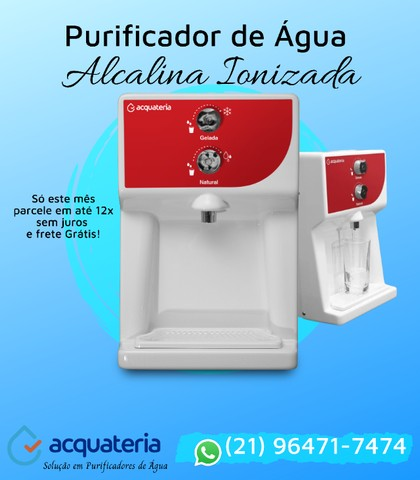 Purificador de Água Alcalina Ionizada - Foto 6