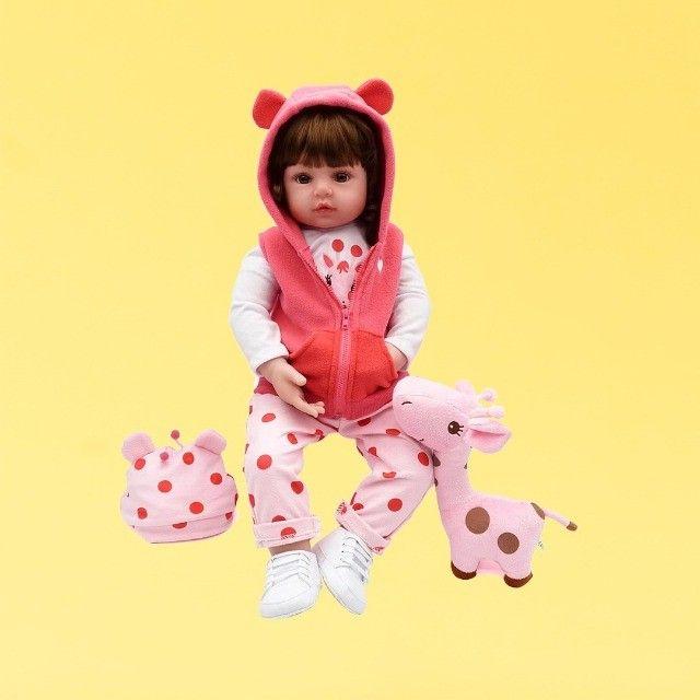 Bebês Reborn 100% silicone realista em promoção - Outros modelos a pronta entrega