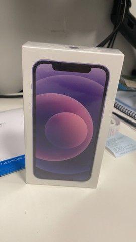 iPhone 12 - 64GB - Purple ( Roxo ) - Novo  - Foto 2