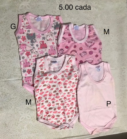Desapegos de bebê menina - super conservados! - Foto 4