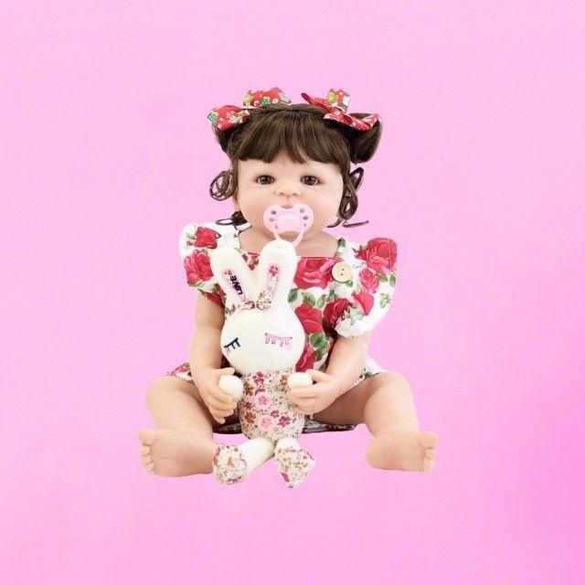 Bebês Reborn 100% silicone realista em promoção - Outros modelos a pronta entrega - Foto 2