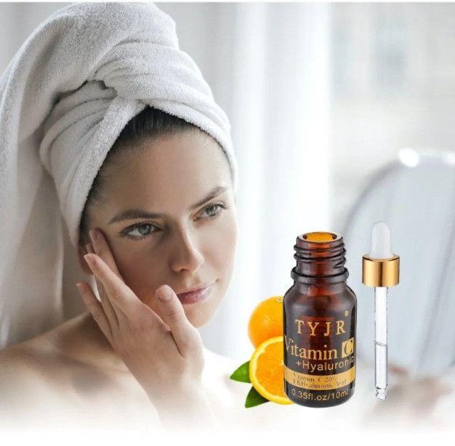 Vitamina C + Ácido Hialurônico Serum Antioxidante Clareador - Foto 4