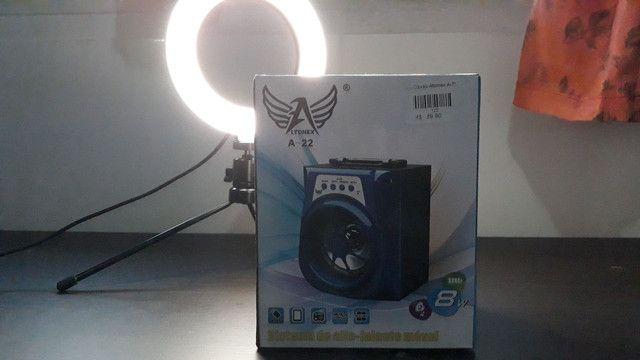 Caixinha Bluetooth R$: 70,00
