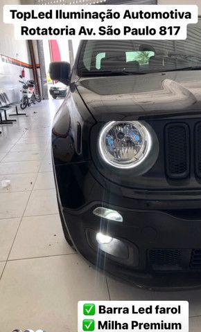 Barra de Led + Led Drl + Led Prime Jeep Renegade