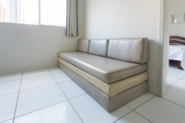 Apartamento 31 B, mobiliado c/ 1 quarto de frente em Boa Viagem - Recife - PE - Foto 11