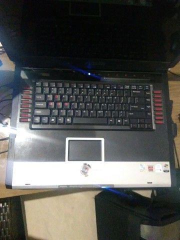 Raridade - Notebook Asus gamer G2p 17 polegadas + bolsa de transporte TARGUS.  - Foto 2