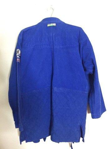 Kimono Azul Atama A3 - Foto 2